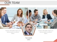 Our Team Ppt PowerPoint Presentation Summary Portrait