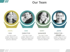 Our Team Ppt PowerPoint Presentation Visual Aids
