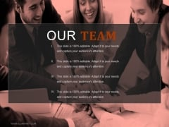 Our Team Ppt PowerPoint Presentation Visuals