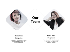 Our Team Teamwork Ppt PowerPoint Presentation Outline Influencers