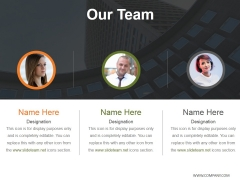 Our Team Template 2 Ppt PowerPoint Presentation Inspiration Demonstration
