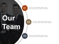 Our Team Template 2 Ppt PowerPoint Presentation Layouts Icon
