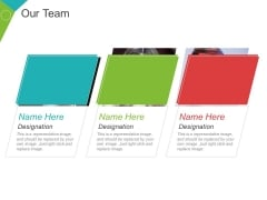 Our Team Template 2 Ppt PowerPoint Presentation Portfolio Summary