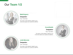 Our Team Work Management Ppt PowerPoint Presentation Pictures Topics