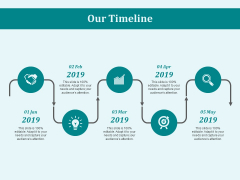 Our Timeline Roadmap Ppt PowerPoint Presentation File Graphics Design