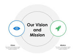 Our Vision And Mission Goal Ppt PowerPoint Presentation File Example