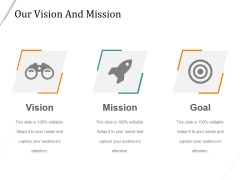 Our Vision And Mission Ppt PowerPoint Presentation Layouts