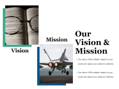 Our Vision And Mission Ppt PowerPoint Presentation Portfolio Example Topics