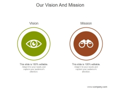 Our Vision And Mission Ppt PowerPoint Presentation Templates