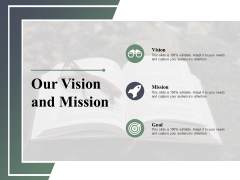 Our Vision And Mission Strategy Ppt PowerPoint Presentation Layouts Outline
