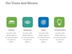 Our Vision And Mission Template 1 Ppt PowerPoint Presentation Model Images