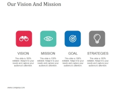 Our Vision And Mission Template 1 Ppt Powerpoint Presentation Styles Graphic Images