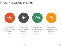 Our Vision And Mission Template 7 Ppt PowerPoint Presentation Sample