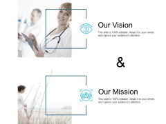 Our Vision And Our Mission Ppt PowerPoint Presentation Outline Example