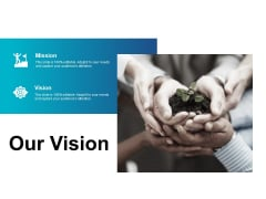Our Vision And Vision Ppt PowerPoint Presentation Layouts Visuals