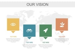 Our Vision For Social And Economic Growth Powerpoint Slides