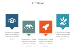Our Vision Ppt PowerPoint Presentation Diagrams