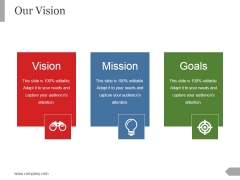 Our Vision Ppt PowerPoint Presentation Files