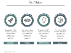 Our Vision Ppt PowerPoint Presentation Graphics