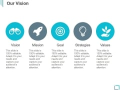 Our Vision Ppt PowerPoint Presentation Ideas