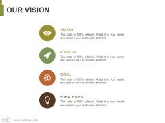 Our Vision Ppt PowerPoint Presentation Infographic Template