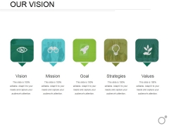 Our Vision Ppt PowerPoint Presentation Pictures Mockup