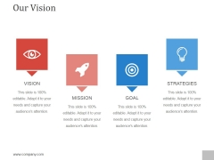 Our Vision Ppt PowerPoint Presentation Pictures