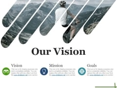 Our Vision Ppt PowerPoint Presentation Portfolio Icons