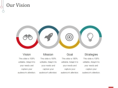 Our Vision Ppt PowerPoint Presentation Professional Ideas
