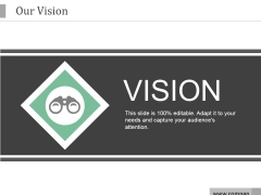 Our Vision Ppt PowerPoint Presentation Professional