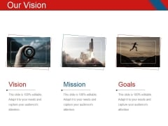 Our Vision Ppt PowerPoint Presentation Show Mockup
