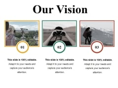 Our Vision Ppt PowerPoint Presentation Show Samples