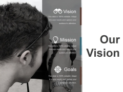 Our Vision Ppt PowerPoint Presentation Slide Download