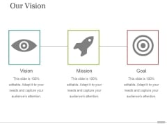Our Vision Ppt PowerPoint Presentation Styles