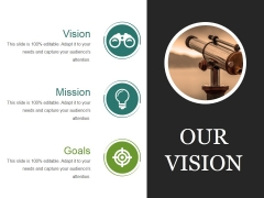 Our Vision Ppt PowerPoint Presentation Templates