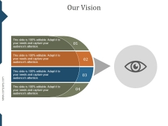 Our Vision Ppt PowerPoint Presentation Visual Aids