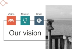 Our Vision Ppt PowerPoint Presentation Visuals