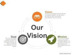 Our Vision Template 1 Ppt PowerPoint Presentation Portfolio Icons