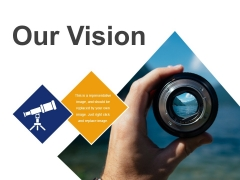 Our Vision Template 3 Ppt PowerPoint Presentation Professional Demonstration