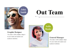 Out Team Ppt PowerPoint Presentation Slides Background Designs