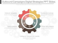 Outbound Campaigns Digital Strategies Ppt Slides
