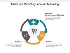 Outbound Marketing Inbound Marketing Ppt PowerPoint Presentation Slides Influencers Cpb