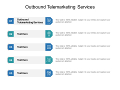Outbound Telemarketing Services Ppt PowerPoint Presentation Professional Designs Cpb