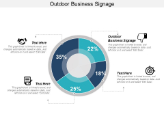 Outdoor Business Signage Ppt PowerPoint Presentation Show Graphic Images