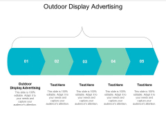 Outdoor Display Advertising Ppt PowerPoint Presentation Styles Demonstration Cpb