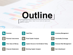 Outline Cash Flow Ppt Powerpoint Presentation Gallery Vector