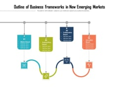Outline Of Business Frameworks In New Emerging Markets Ppt PowerPoint Presentation Gallery Aids PDF