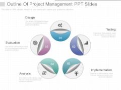 Outline Of Project Management Ppt Slides