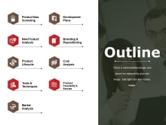 Outline Ppt PowerPoint Presentation Gallery Outfit
