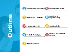 Outline Ppt PowerPoint Presentation Icon Example